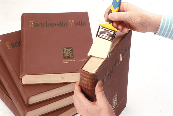 pulire i libri