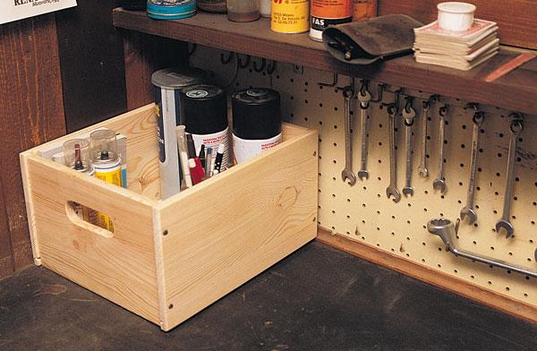 scatoletta in legno per laboratorio